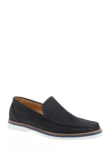 Divarese %100 Deri Klasik Ayakkabı Lacivert
